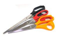 Multicolored scissors Stock Photo