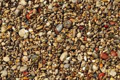 Multicolored sea pebbles Royalty Free Stock Photo