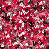 Multicolored Seamless Floral Pattern Stock Photos