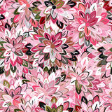 Multicolored Seamless Floral Pattern Royalty Free Stock Photo