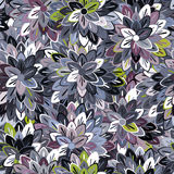 Multicolored Seamless Floral Pattern Royalty Free Stock Images