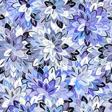 Multicolored Seamless Floral Pattern Stock Image
