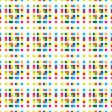 Multicolored seamless pattern Stock Photo