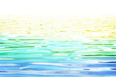 Multicolored Seascape Royalty Free Stock Photo