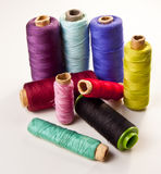 Multicolored sewing Royalty Free Stock Images