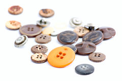 Multicolored sewing buttons Royalty Free Stock Image