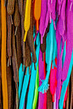 Multicolored Shoe and boot laces Royalty Free Stock Images