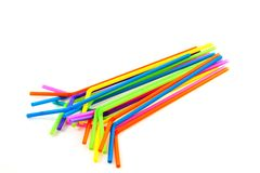 Multicolored sippers Royalty Free Stock Image