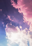 Multicolored sky Royalty Free Stock Photos