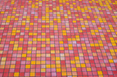 Multicolored small tiles Stock Images