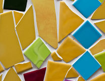 Multicolored small tiles Royalty Free Stock Photography