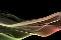 Multicolored smoke Royalty Free Stock Photos