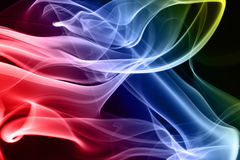 Multicolored smoke Royalty Free Stock Photo