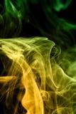 Multicolored smoke Stock Photo