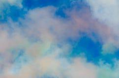 Multicolored smoke Royalty Free Stock Photos