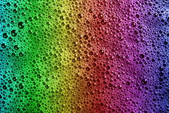 Multicolored soap bubbles Royalty Free Stock Photo