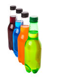 Multicolored Soda Drinks II Royalty Free Stock Photography