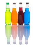 Multicolored Soda Drinks IX Royalty Free Stock Photos