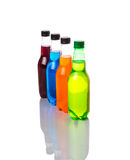 Multicolored Soda Drinks VI Stock Photo