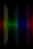 Multicolored sound equalizer as abstract  background. Stock Image