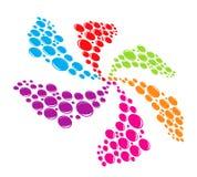 Multicolored splash Stock Photos