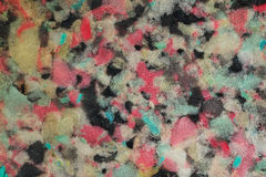 Multicolored sponge texture for pattern Stock Photos