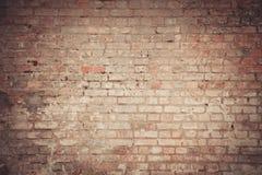 Wall of an old vintage brick. Brick wall of an old vintage brick stock photos
