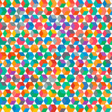Multicolored square background  Royalty Free Stock Photos