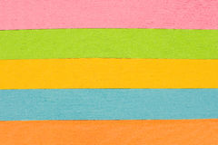Multicolored Stacks of Paper Background Stock Photography