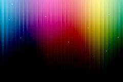 Multicolored Stage Curtain stock photos