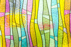 Free Multicolored Stained Glass Church Window Portrait Orientation Stock Images - 45942034