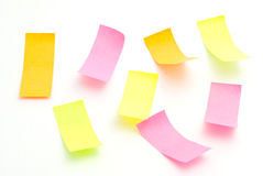 Multicolored stickers Stock Images