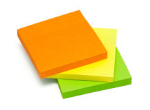 Multicolored stickers Stock Photos