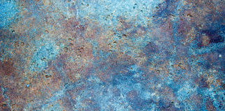 Multicolored Stone Banner Background. Stone banner with embedded micro-fossils and color striations Royalty Free Stock Image