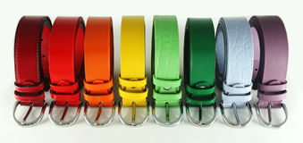 Multicolored straps Royalty Free Stock Photo