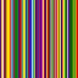 Multicolored strepen vector illustratie