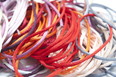 Multicolored strings Royalty Free Stock Image