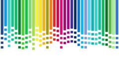 Multicolored stripes Stock Photos