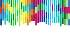 Multicolored stripes Royalty Free Stock Photos