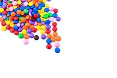 Multicolored suikergoed stock fotografie