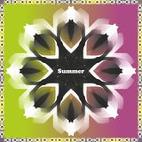 Multicolored summer background Royalty Free Stock Photography