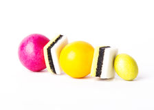 Multicolored sweets Royalty Free Stock Photography