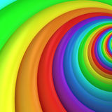 Multicolored swirl. Multicolored twisted background, 3d computer graphic Stock Images