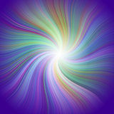 Multicolored swirl background Royalty Free Stock Images