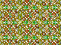 Multicolored Tech Pattern Stock Image