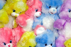 Multicolored Teddy Bears Royalty Free Stock Photos
