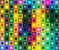 Multicolored tegelachtergrond Royalty-vrije Stock Foto's