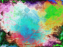 Multicolored texture with geometric shapes as abstract backgroun Stock Photo