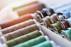 Multicolored threads Royalty Free Stock Photo