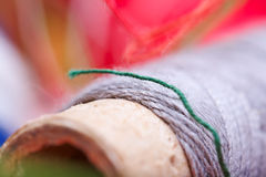 Multicolored threads for sewing Royalty Free Stock Image